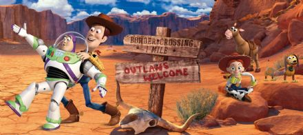 Toy Story Disney mural wallpaper 202x90cm